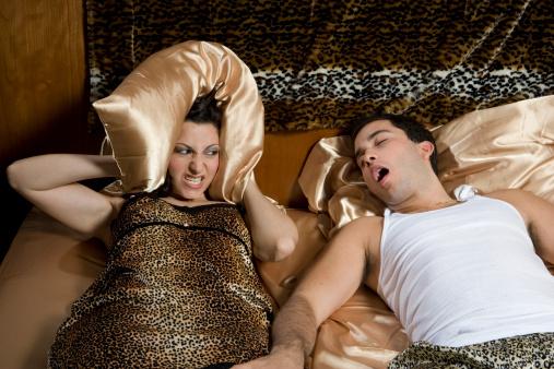 Snoring bad habit